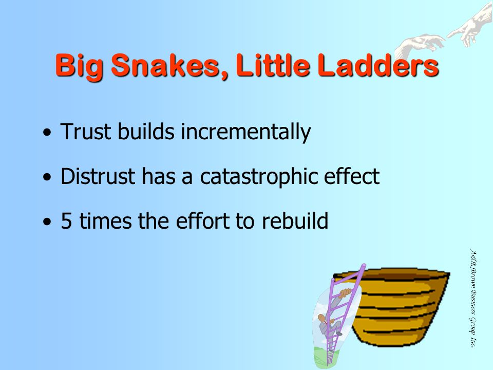 Big Snakes, Little Ladders