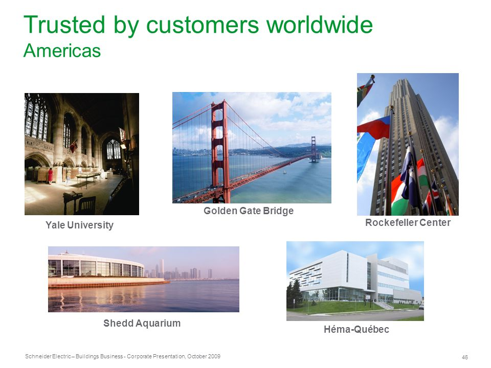 Trusted by customers worldwide Americas