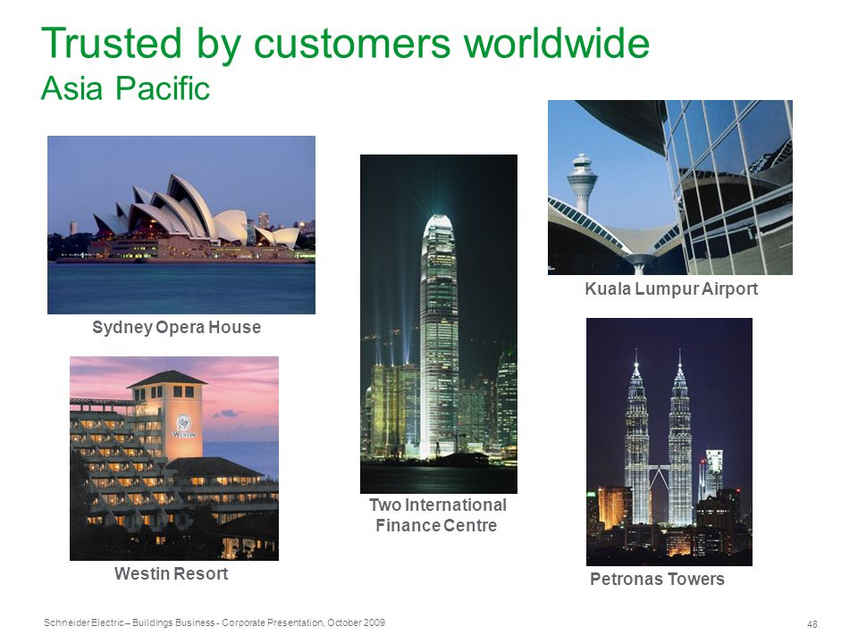 Trusted by customers worldwide Asia Pacific