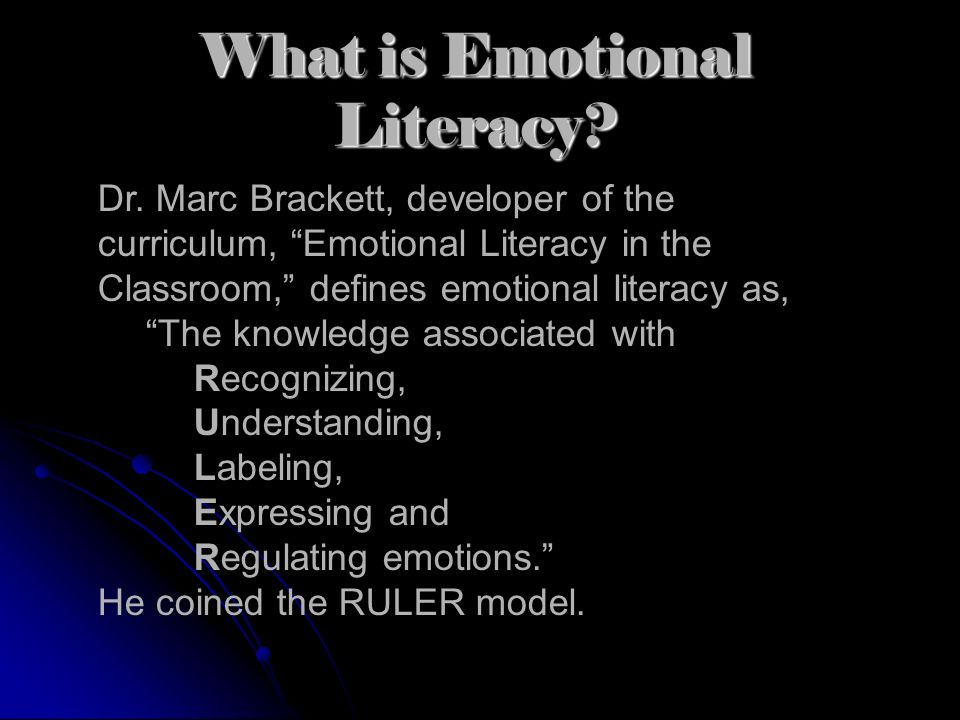 What is Emotional Literacy