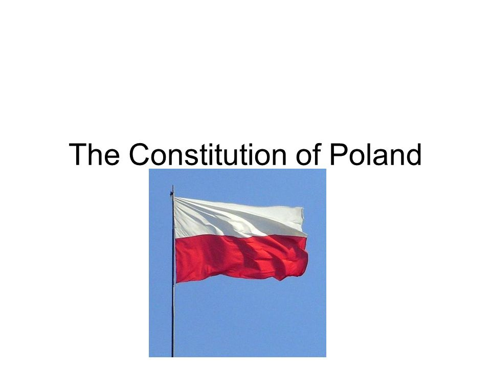 The Constitution of Poland