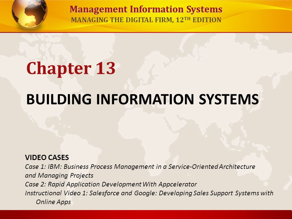 BUILDING INFORMATION SYSTEMS