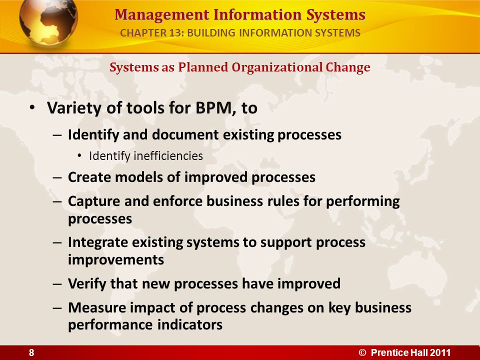 Information systems in insurance company