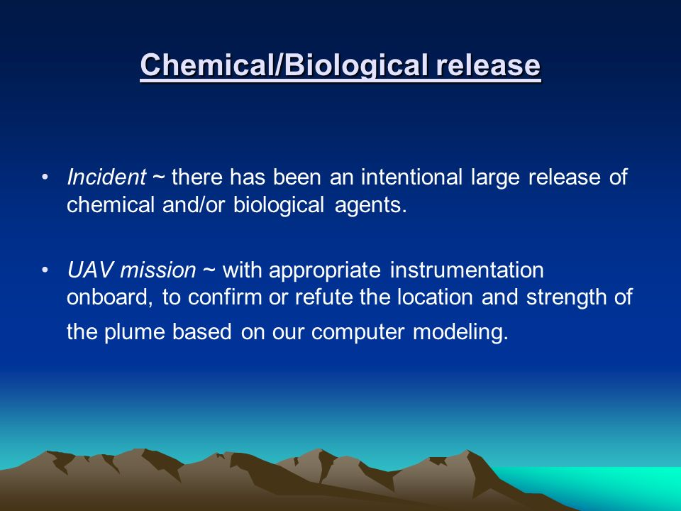 Chemical/Biological release