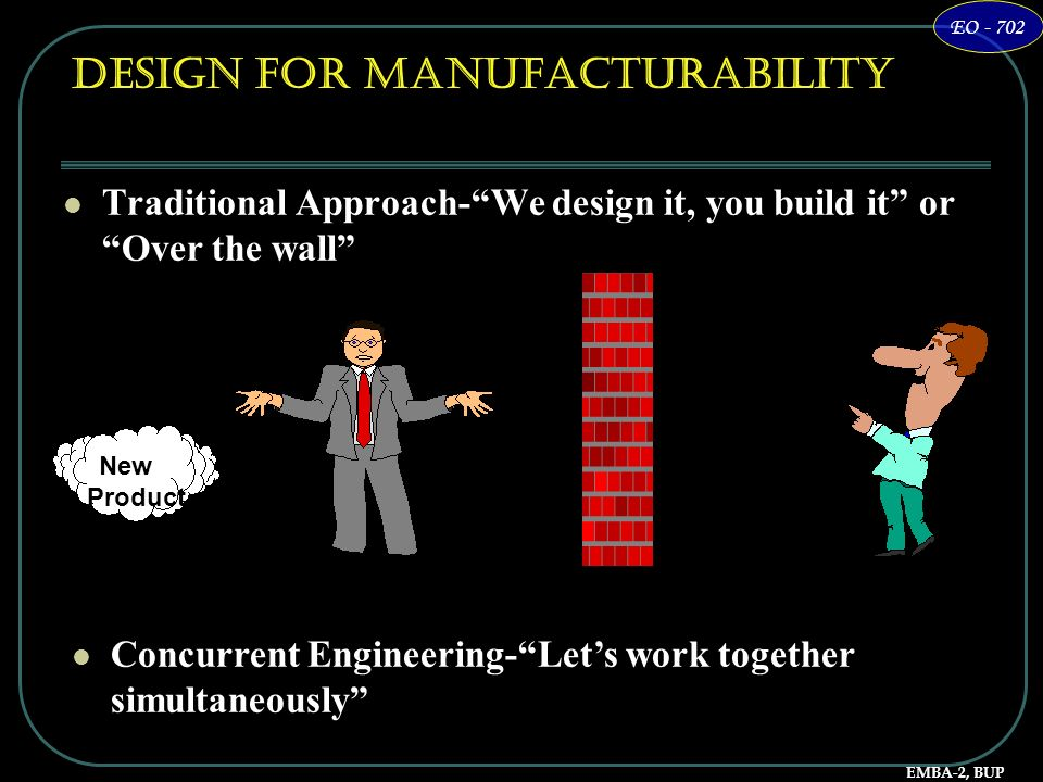 Design for Manufacturability