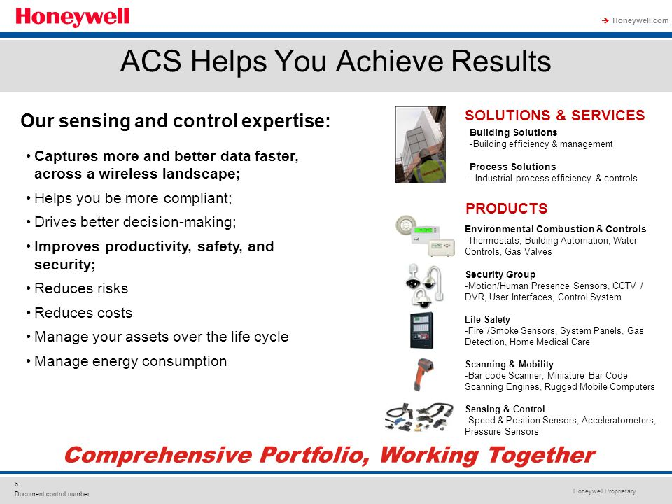 ACS Helps You Achieve Results