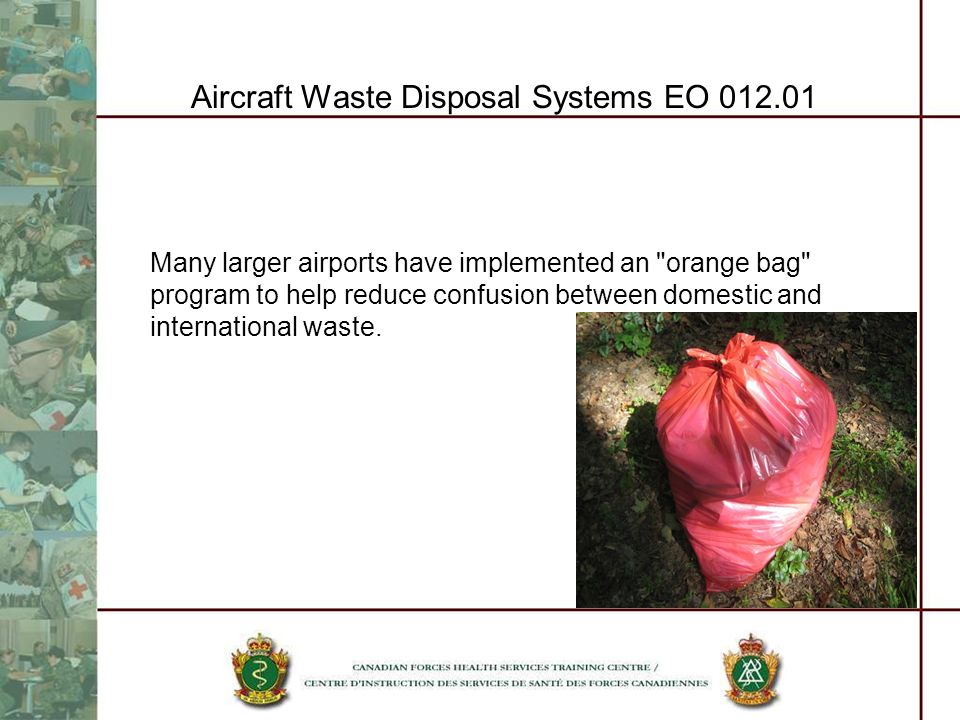 Aircraft Waste Disposal Systems EO 012.01