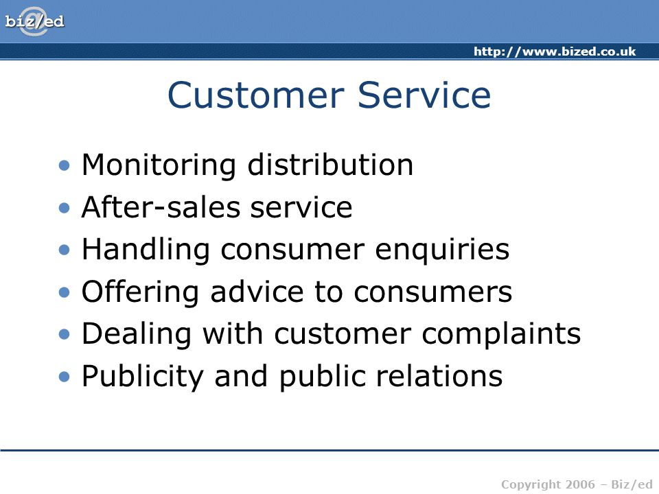 Customer Service Monitoring distribution After-sales service