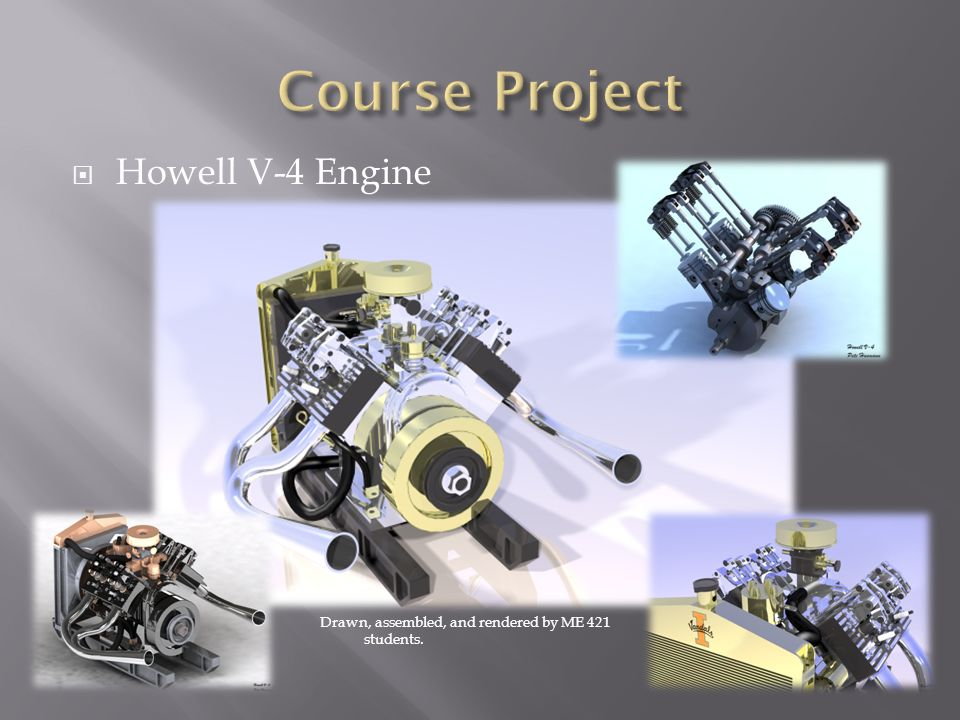 Course Project Howell V-4 Engine