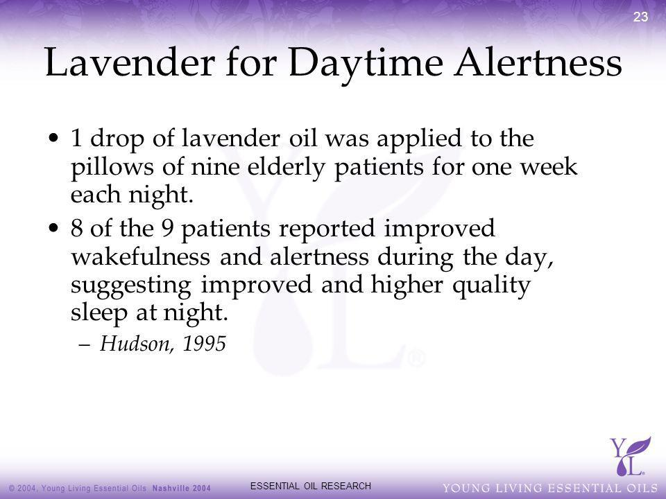Lavender for Daytime Alertness