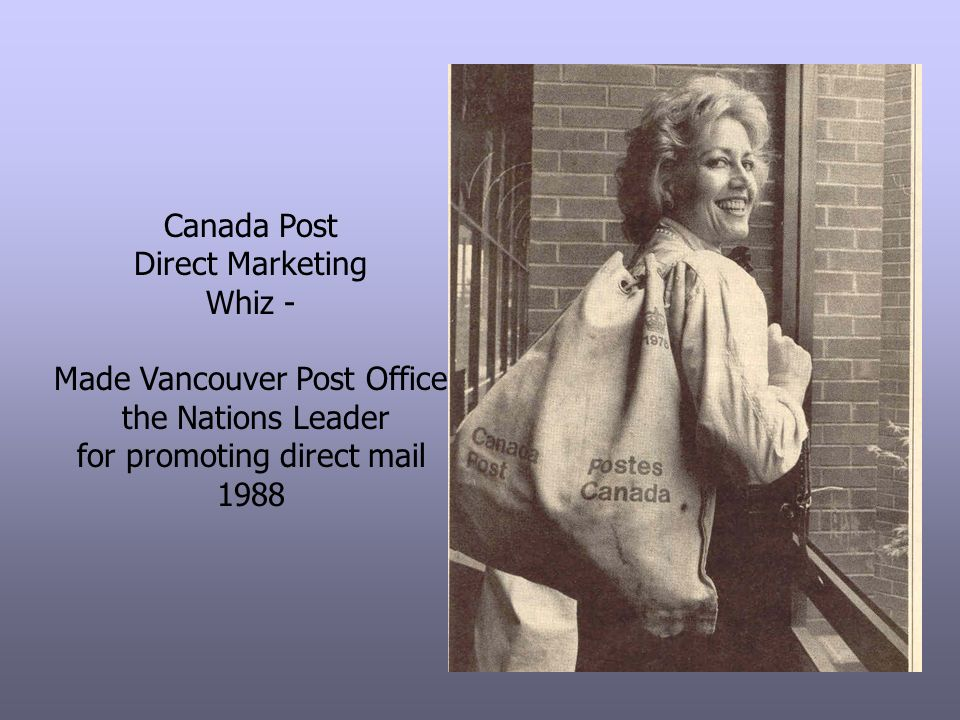Made Vancouver Post Office the Nations Leader