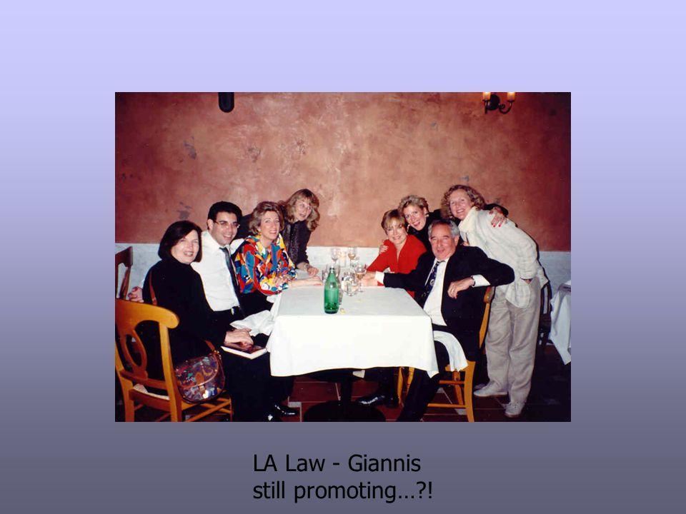 LA Law - Giannis still promoting… !