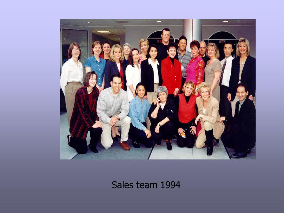 Sales team 1994