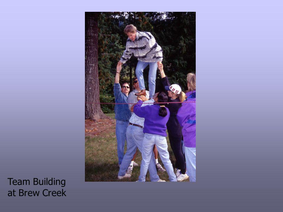 Team Building at Brew Creek