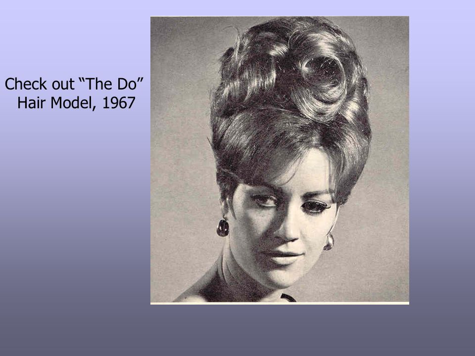 Check out The Do Hair Model, 1967