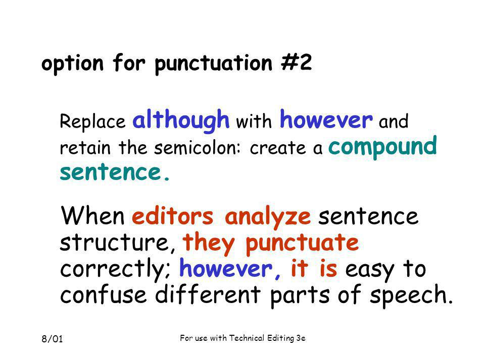 option for punctuation #2