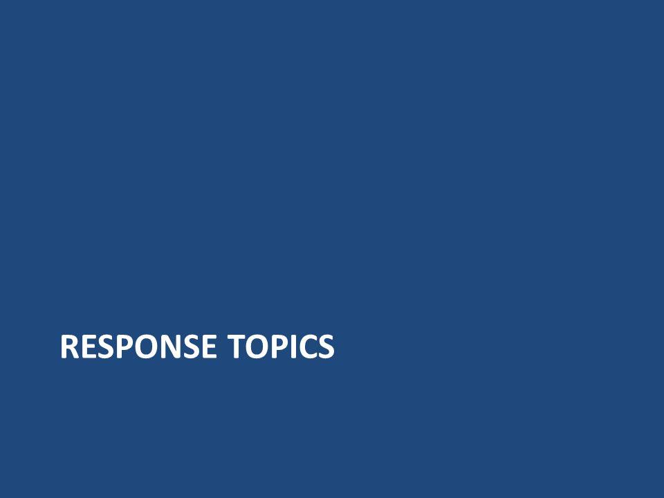 Response Topics