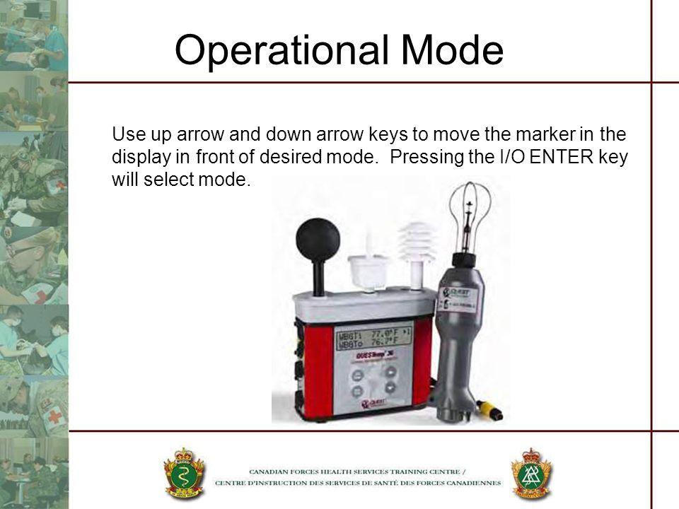 Operational Mode