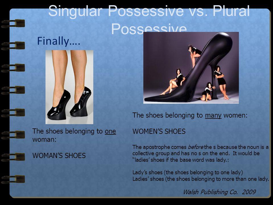 Singular Possessive vs. Plural Possessive