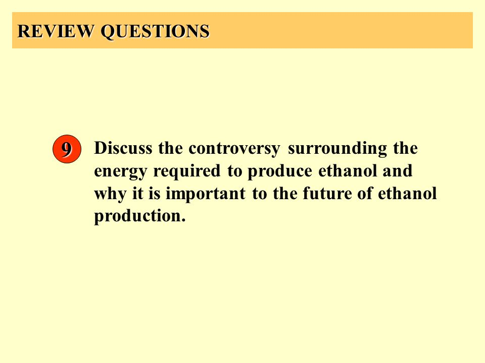 REVIEW QUESTIONS 9.