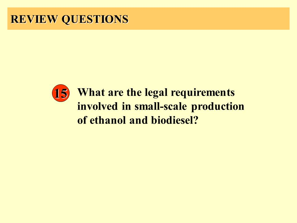 REVIEW QUESTIONS 15.