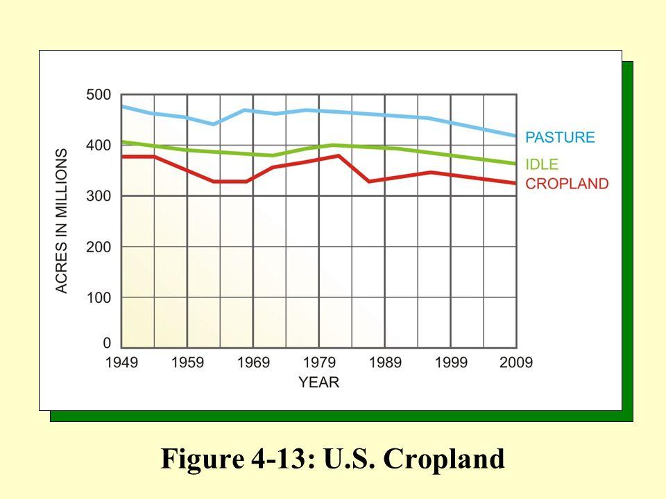 Figure 4-13: U.S. Cropland