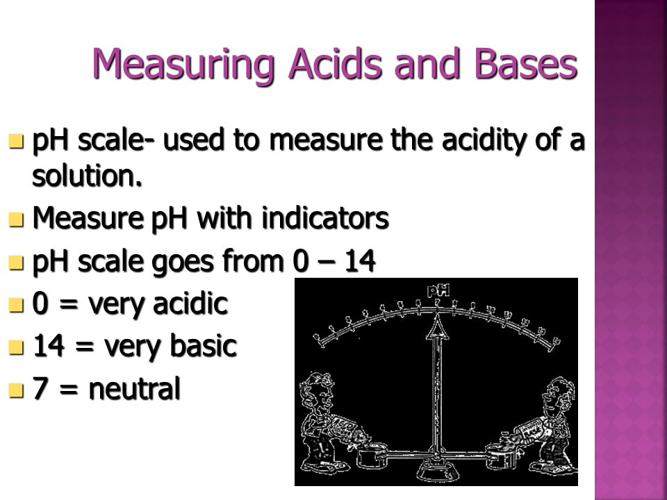 Measuring Acids and Bases