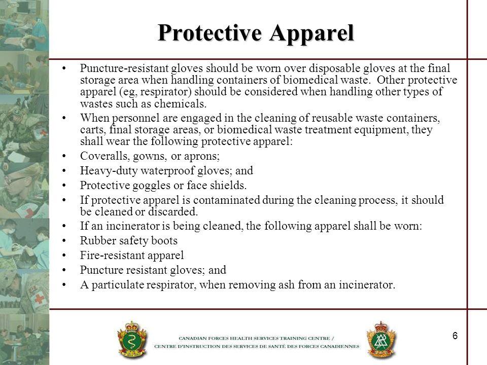 Protective Apparel