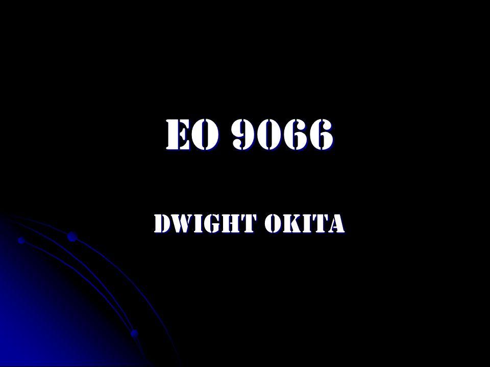 EO 9066 Dwight Okita