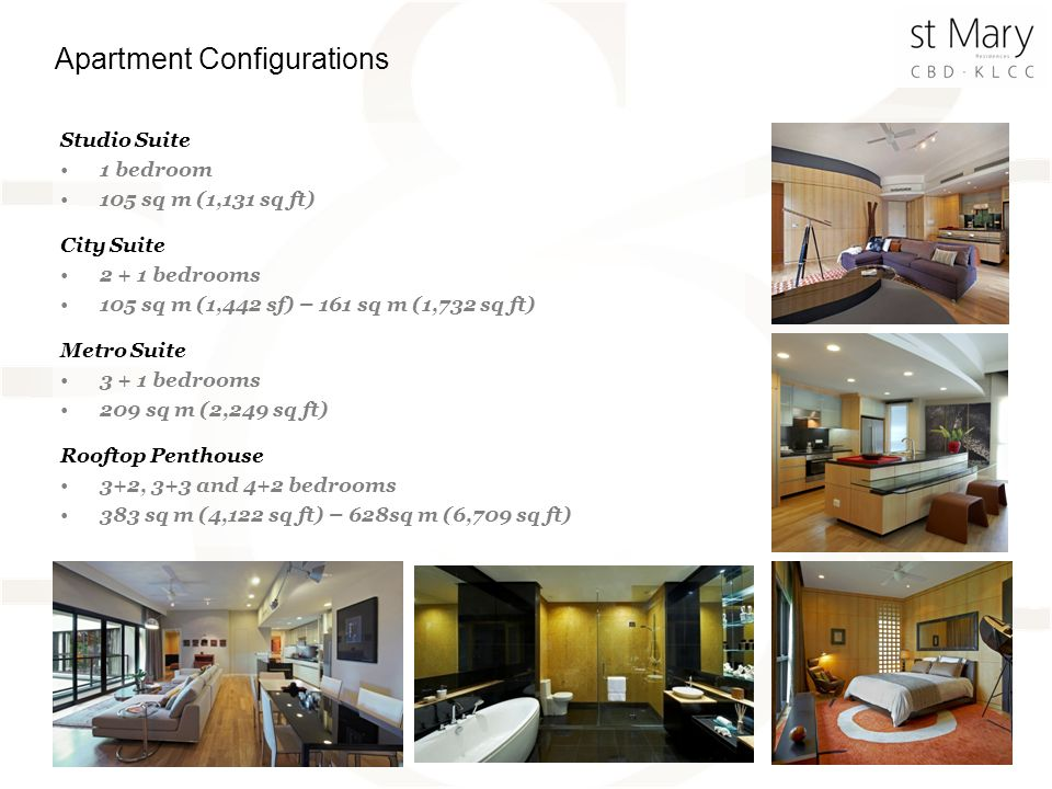 Apartment Configurations