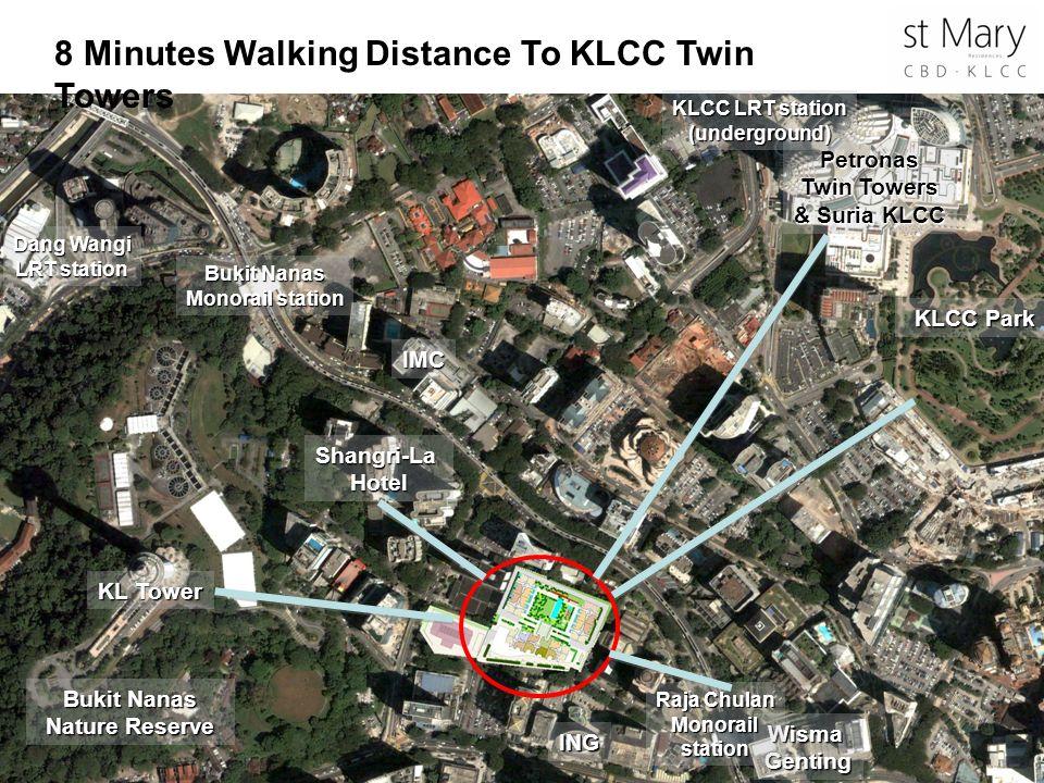 Petronas Twin Towers & Suria KLCC Bukit Nanas Nature Reserve
