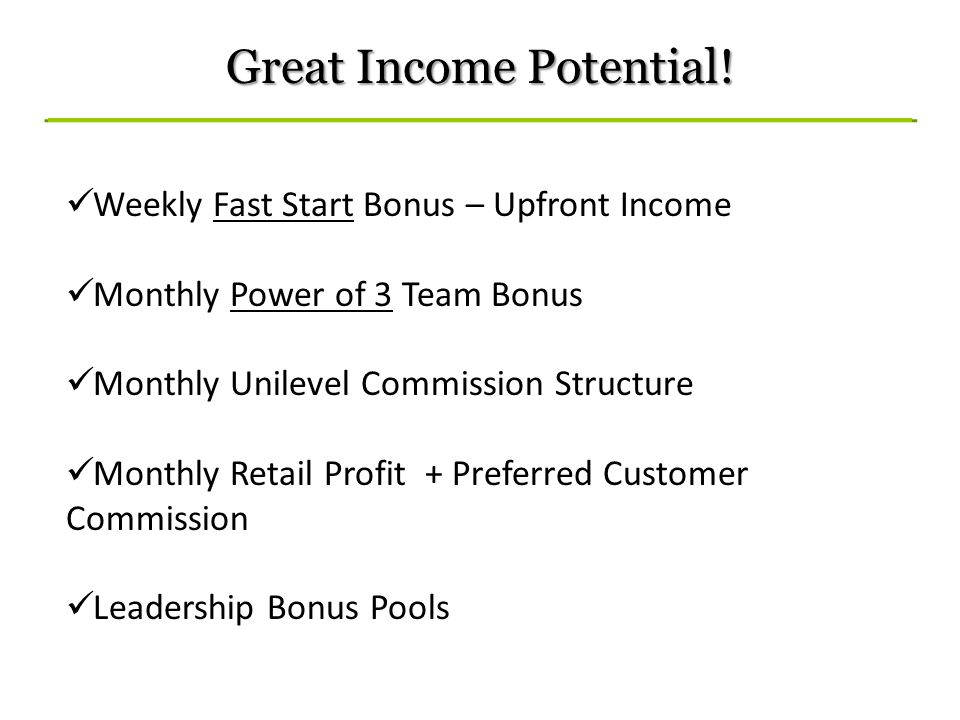 Great Income Potential!