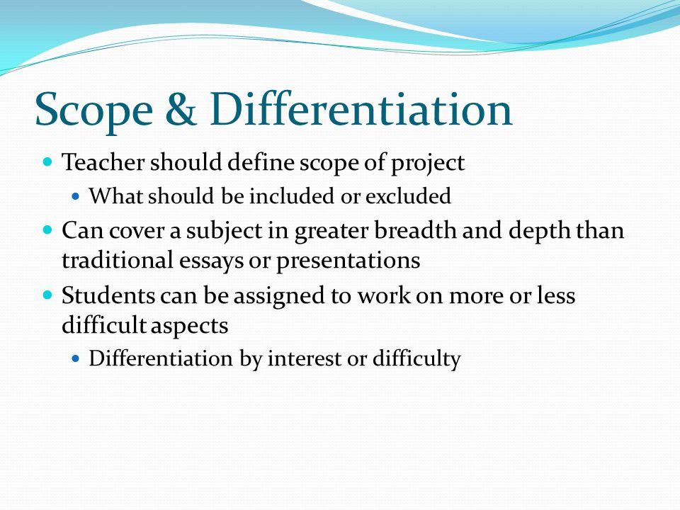 Scope & Differentiation