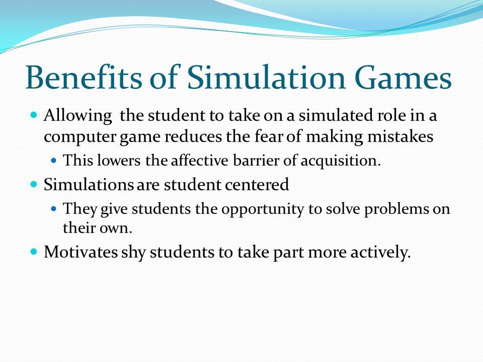 Benefits of Simulation Games