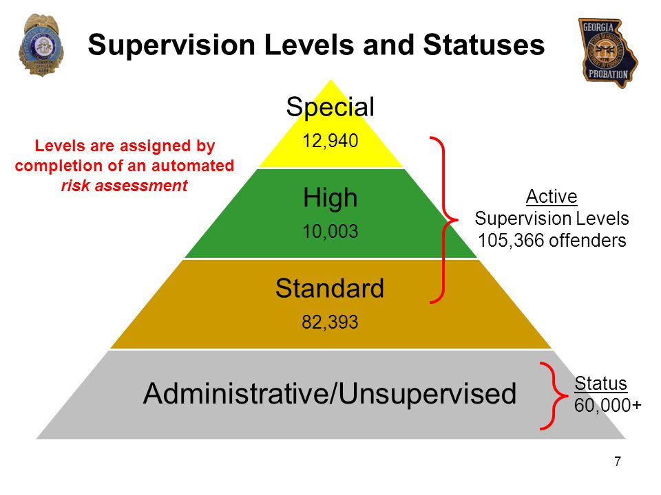 Supervision Levels and Statuses