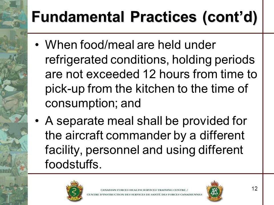 Fundamental Practices (cont'd)