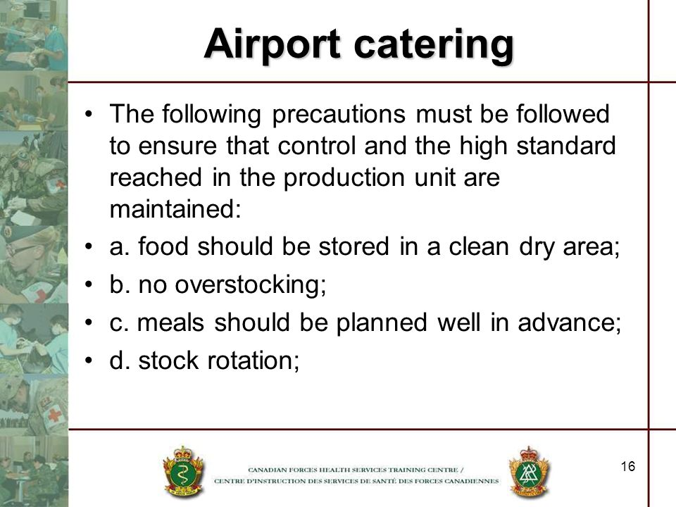 Airport catering