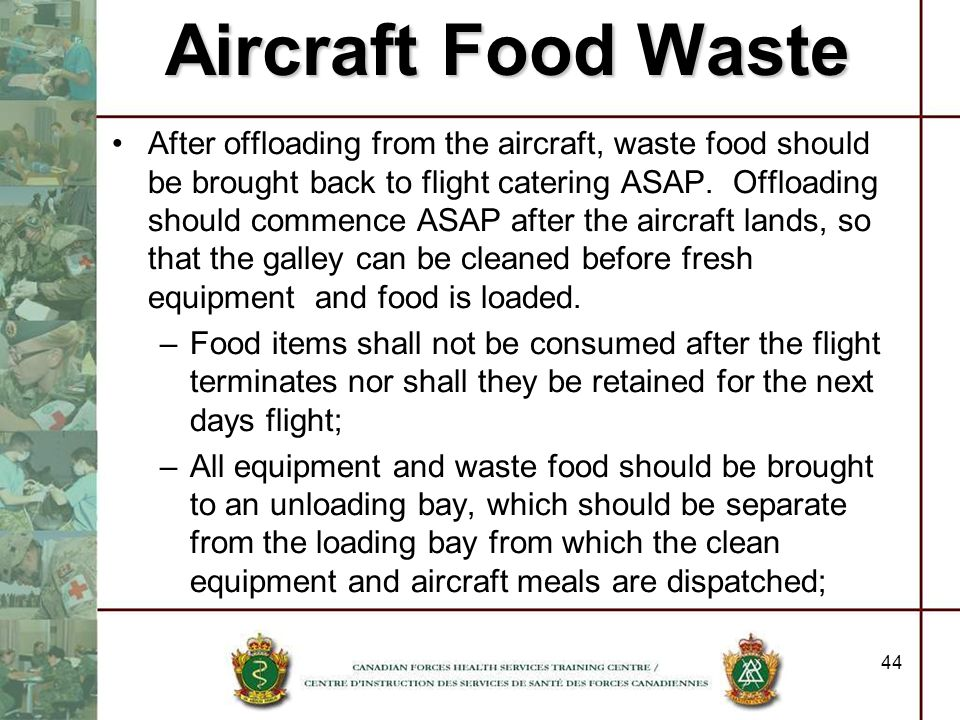 Aircraft Food Waste