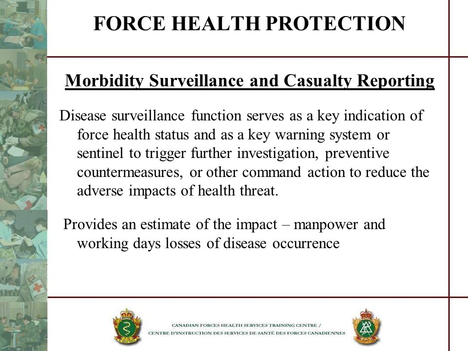 FORCE HEALTH PROTECTION