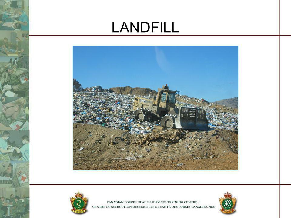 LANDFILL SANITARY LANDFILL