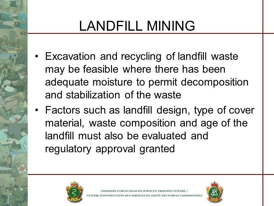 LANDFILL MINING