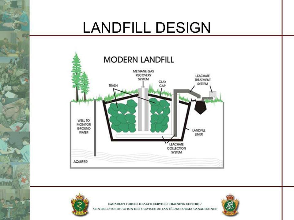 LANDFILL DESIGN SANITARY LANDFILL DESIGN