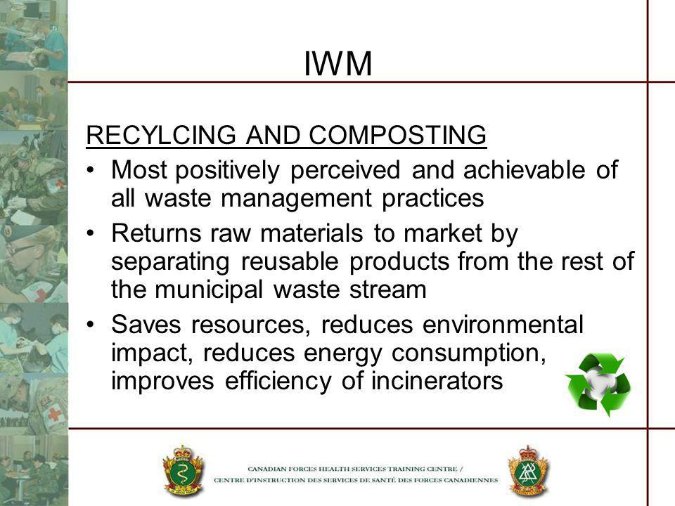 IWM RECYLCING AND COMPOSTING