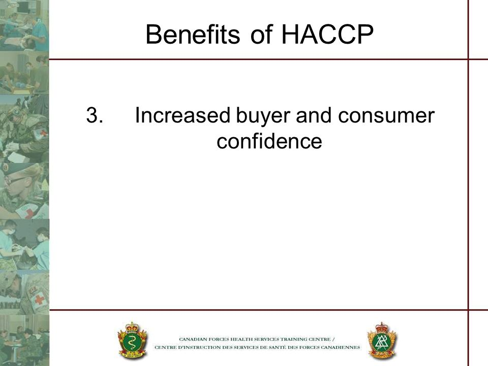 3. Increased buyer and consumer confidence