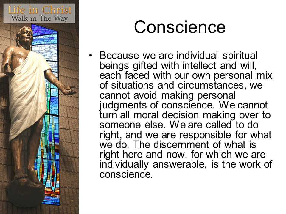 Conscience
