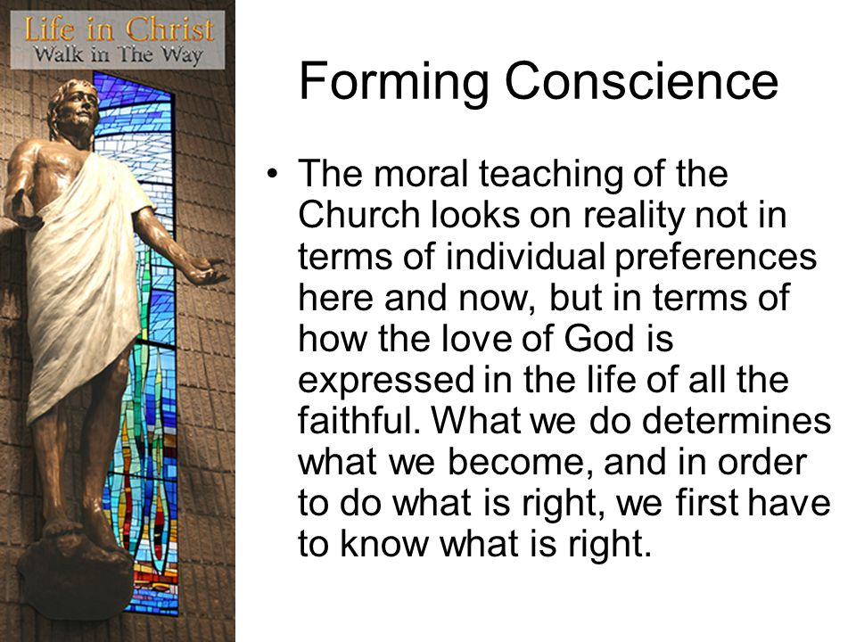Forming Conscience