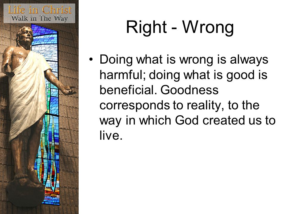 Right - Wrong