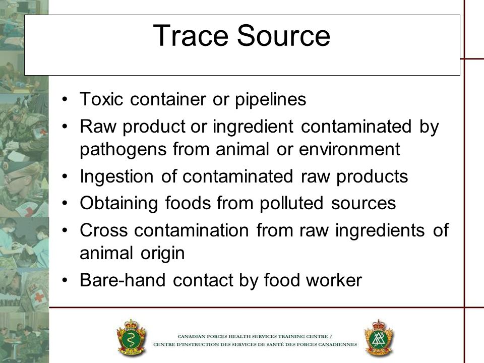 Trace Source Toxic container or pipelines