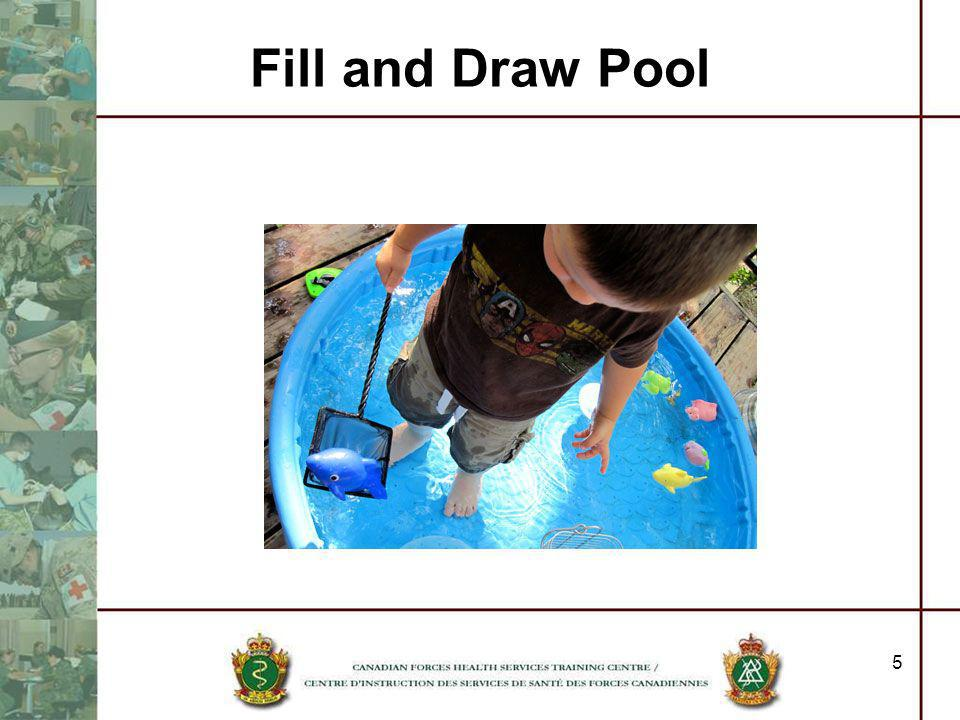 Fill and Draw Pool