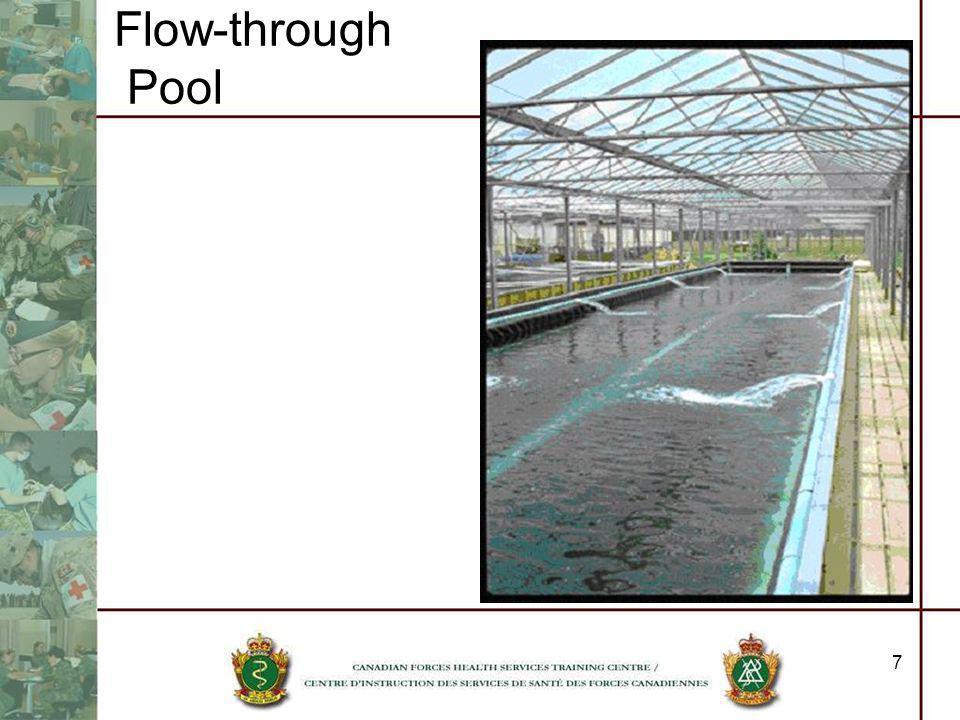 Flow-through Pool